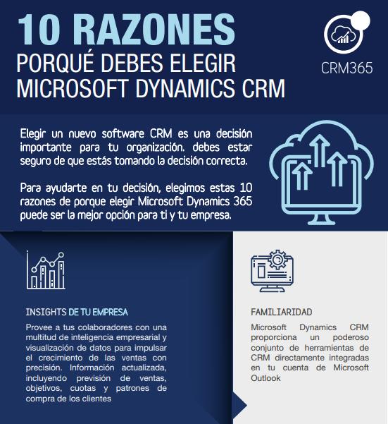CR-preview infografia 10 razones porque debes elegir microsoft dynamics crm